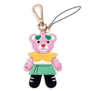PRADA candy bear charm keychain key chain bag